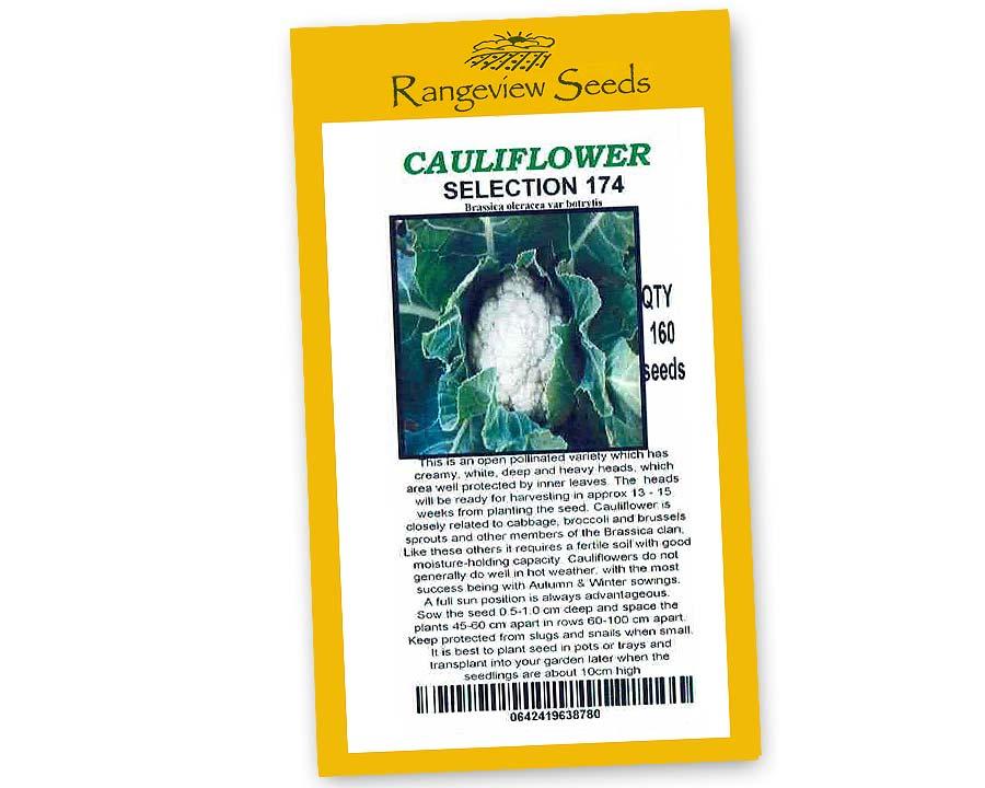 Cauliflower Range 174 - Rangeview Seeds