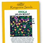 Viola Helen Mount - Rangeview Seeds