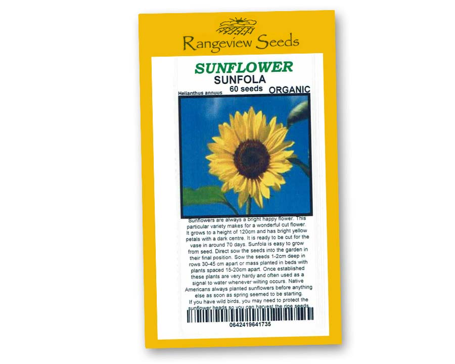 Sunflower Sunfola - Rangeview Seeds