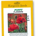 Poppy Flanders - Rangeview Seedas