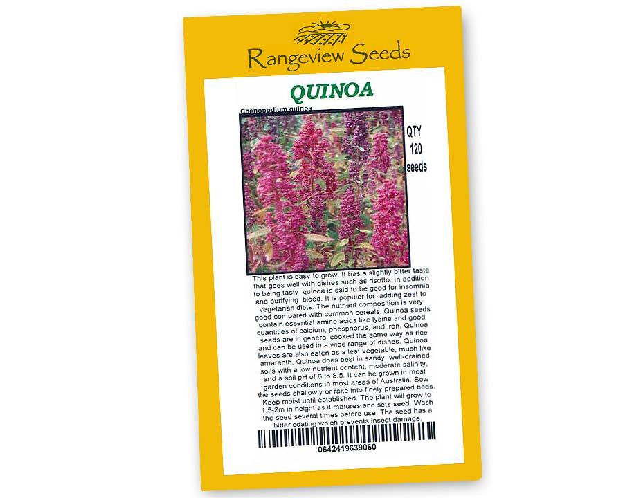 Quinoa - Rangeview Seeds