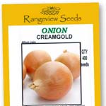 Onion Creamgold - Rangeview Seeds