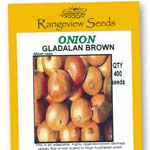 Onion Gladalan Brown - Rangeview Seeds