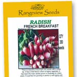 Radish French Breakfast - Rangeview Seeds