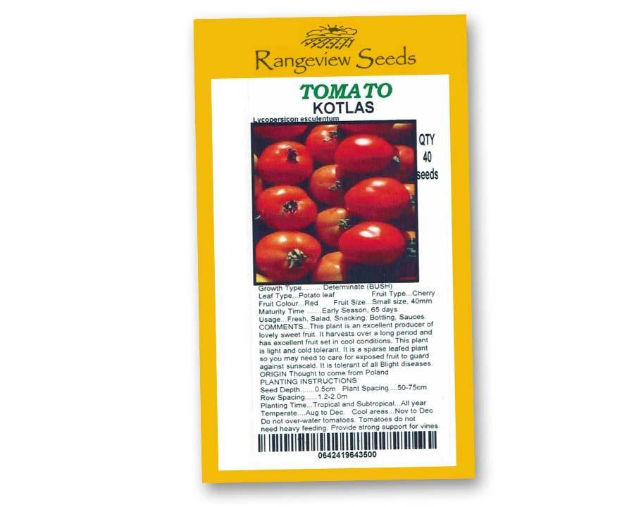 Tomato Kotlan - Rangeview Seeds