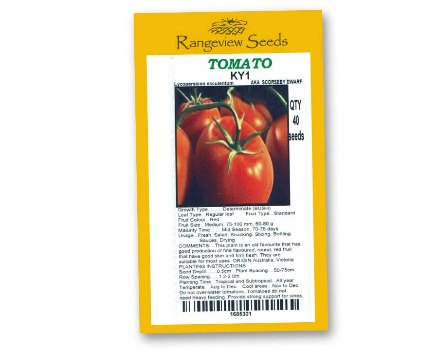 Tomato KY1 - Rangeview Seeds