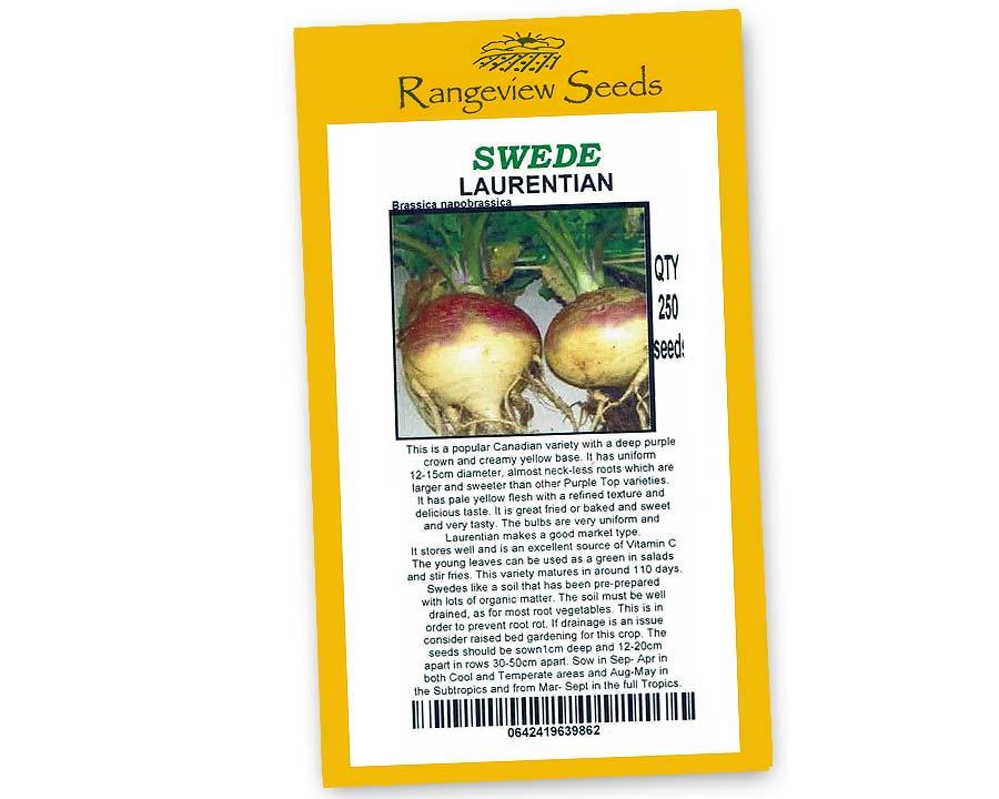 Swede Laurentian - Rangeview Seeds