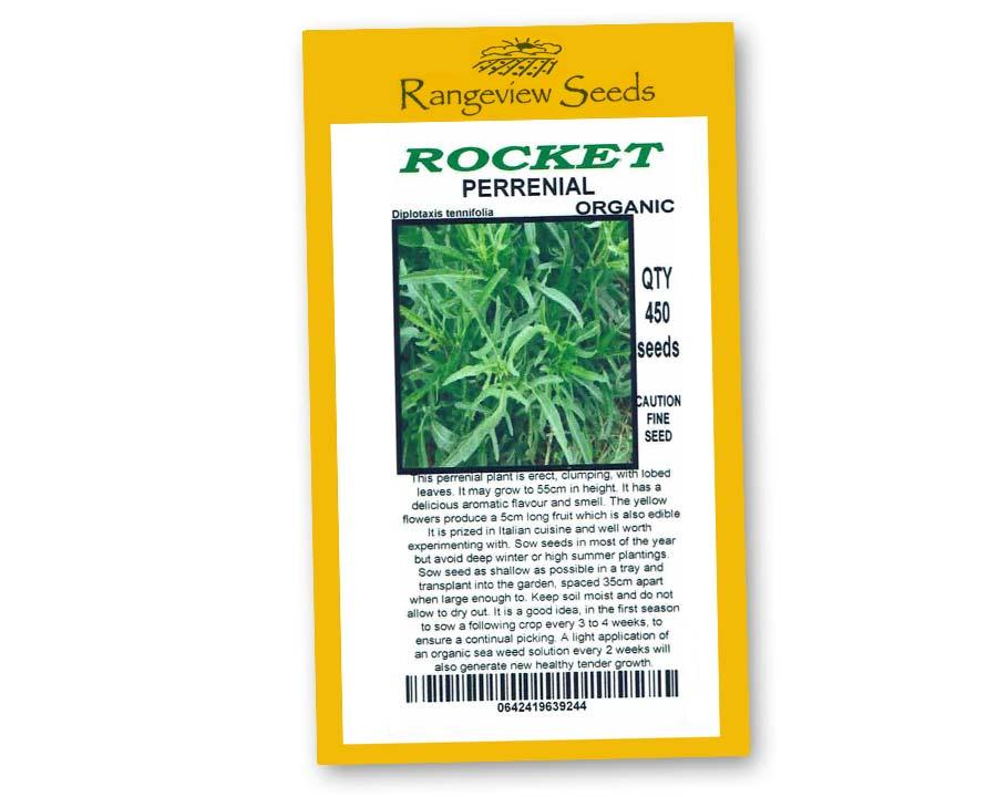 Rocket Perennial - Rangeview Seeds