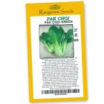 Pak Choi Green - Rangeview Seeds