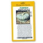 Pumpkin Queensland Blue - Rangeview Seeds
