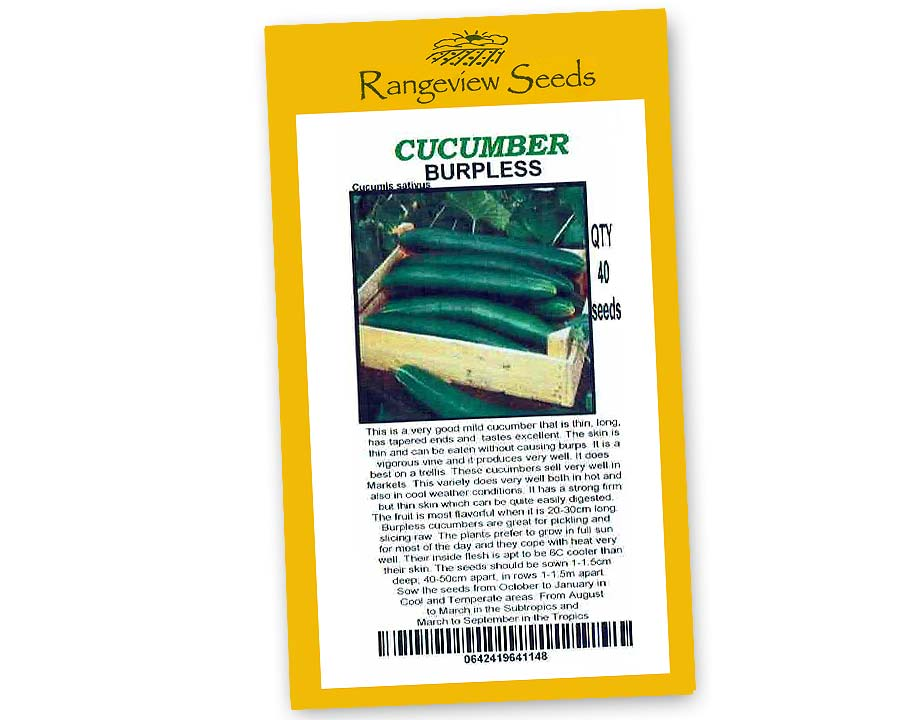 Cucumber Burpless - Rangeview Seeds