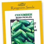 Cucumber Bush Pickles - Rangeview Seeds