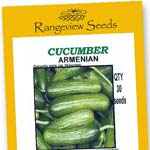 Cucumber Armenian Organic - Rangeview Seeds