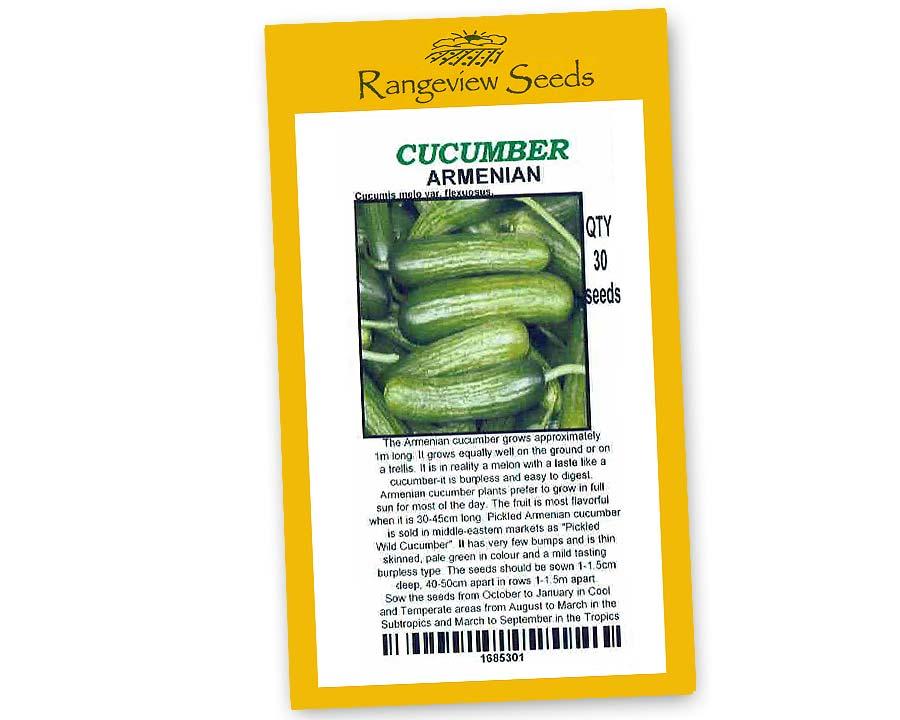 Cucumber Armenian - Rangeview Seeds