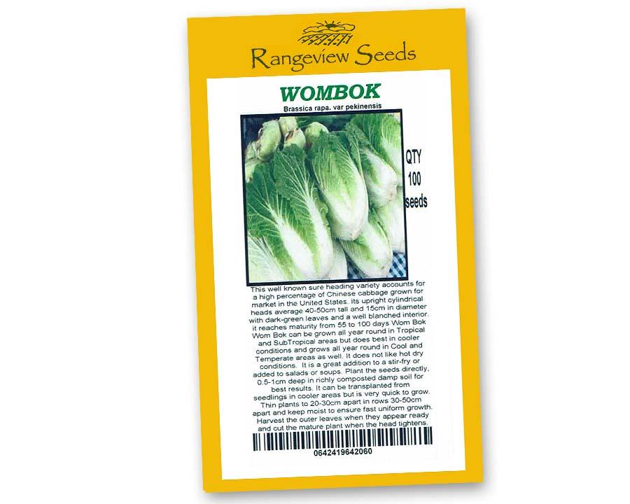 Wombok - Rangeview Seeds