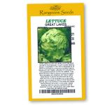 Lettuce Great Lakes Organic - Rangeview Seeds