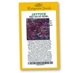 Lettuce Red Salad Bowl Organic - Rangeview Seeds
