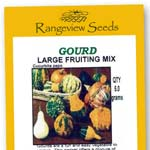Gourd Large Fruiting Mix - Rangeview Seeds