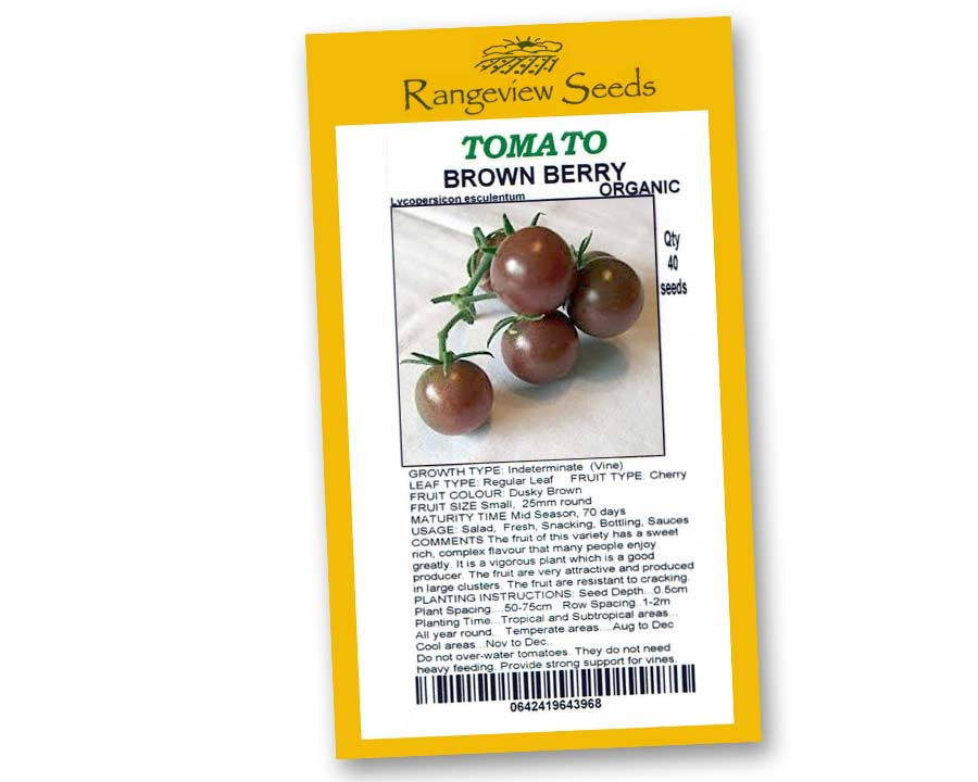 Tomato Brown Berry - Rangeview Seeds