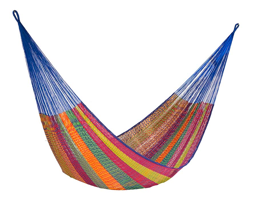 Single Mexican Hammock in Mexicana Colour