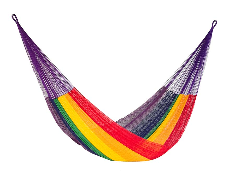 Mexican Hammock in Rainbow Colour