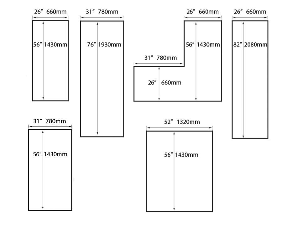 Birdies 'L' Shaped Raised Garden Bed - optional configuration shapes