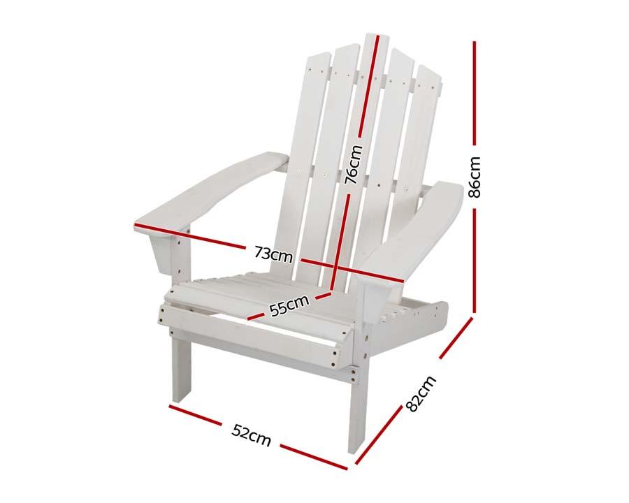 Adirondack Chair White