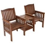 2 Seater Garden Chairs & Table Set