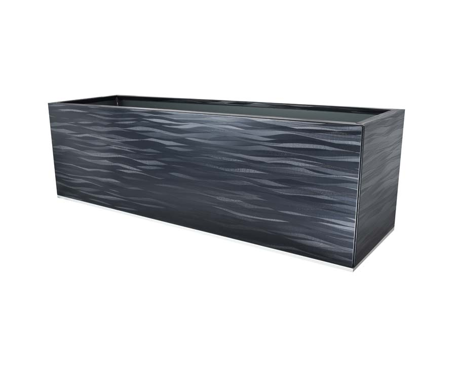 Birdies flat-packed planter 100x30x30 - Spectrum finish