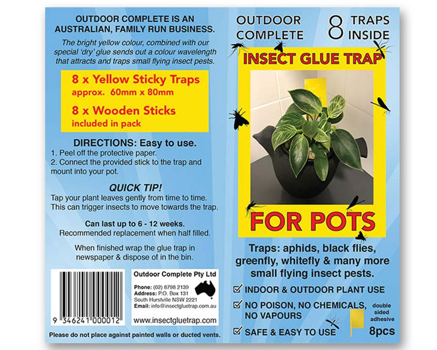 Insect Glue Trap for Pots
