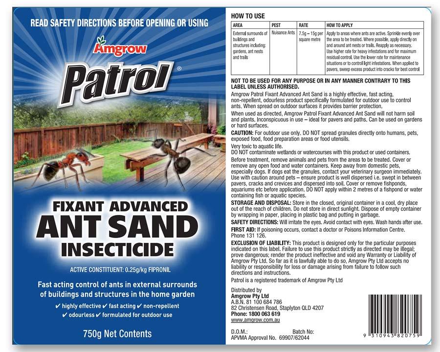Patrol Ant Sand Amgrow