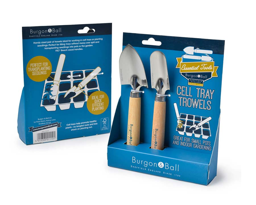Cell Tray Trowel Set