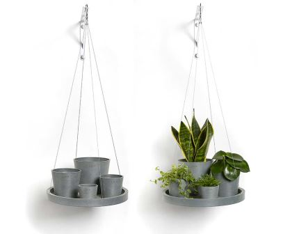 Amsterdam Hanging Saucer - Ecopots