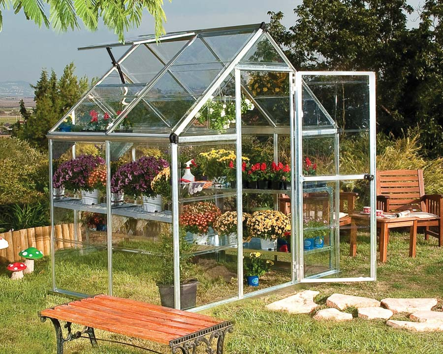 Greenhouse 6'x4' Walk-In