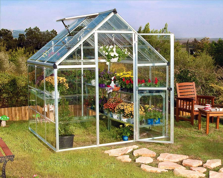 6'x6' WalkIn Greenhouse (185cms x 186cms x 208cms)