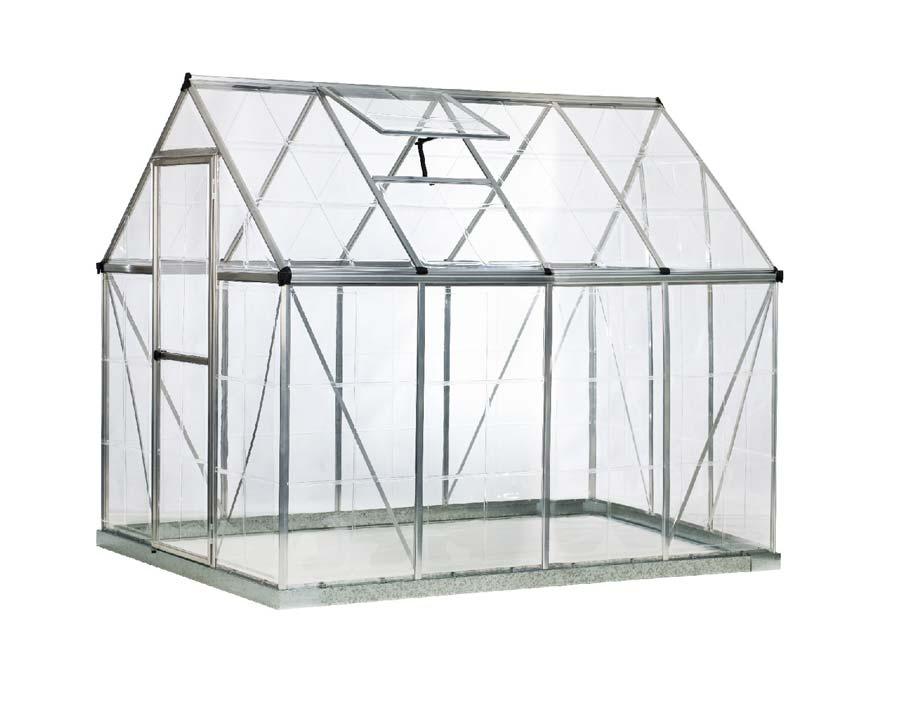 6'x8' WalkIn Greenhouse (185cm X 247cm X 208cm)