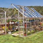 Greenhouse Tall Walk-In 8'x12' (244cm x 367cm x 229cm)