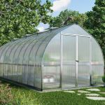 Bella 8'x20' Greenhouse (593 x 236 x 211cms)