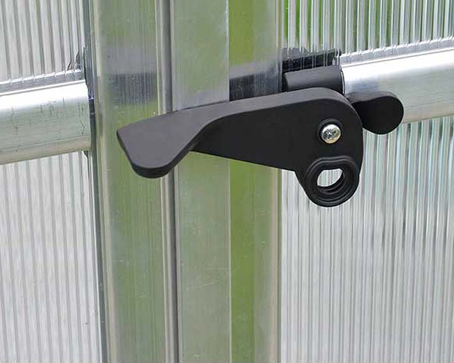 Bella 8x20 Greenhouse - lockable latch