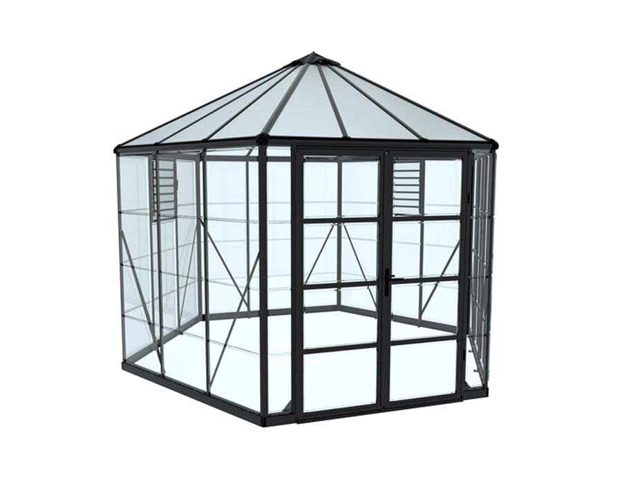 Oasis Hex 12 Greenhouse