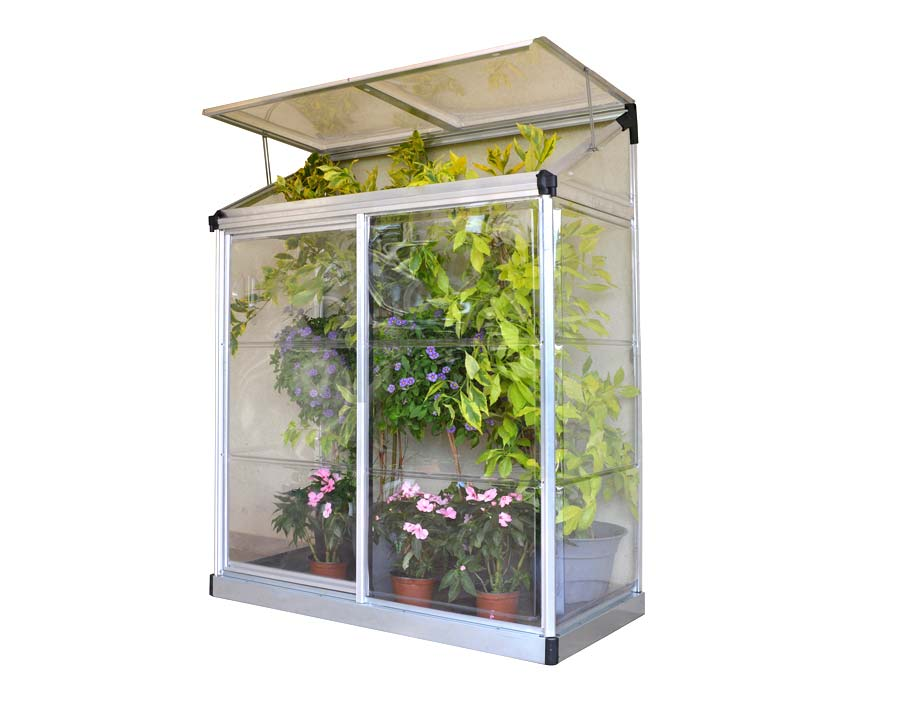 Lean-To Greenhouse 4'x2'