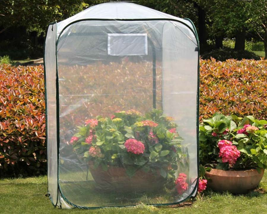 Poly Plant Cover 1 x 1 x 1.4m