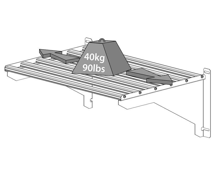 Shelf Kit Heavy Duty