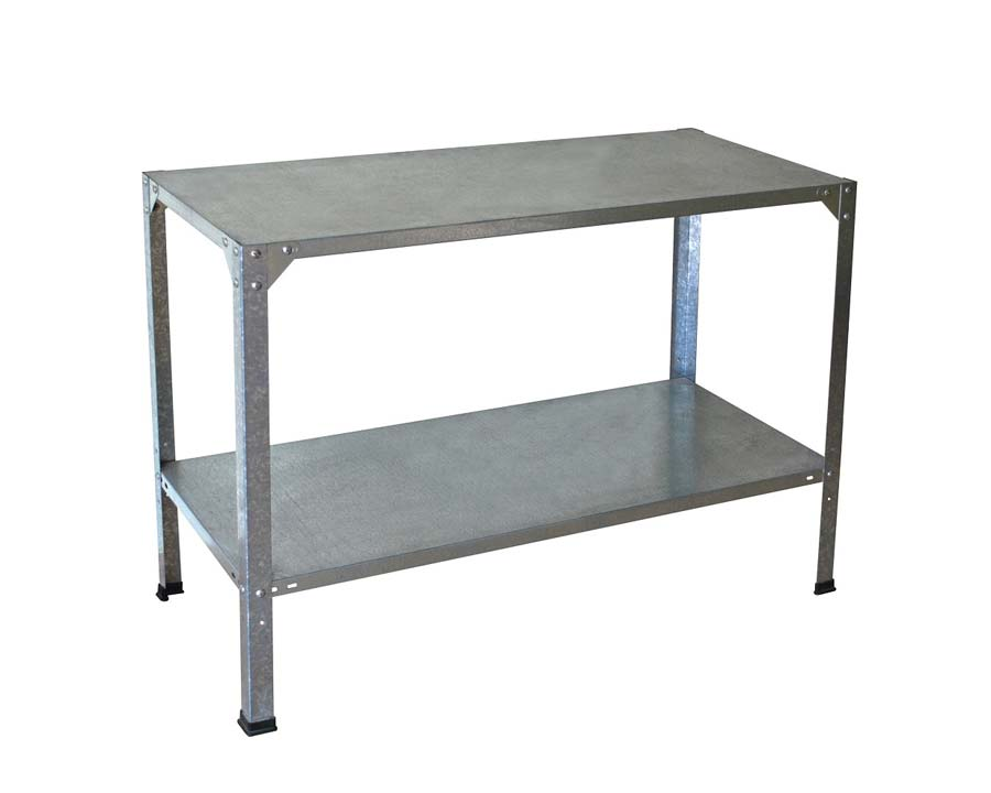 Steel workbench ideal for Greenhouse use