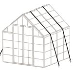 Anchoring Kit for Greenhouses