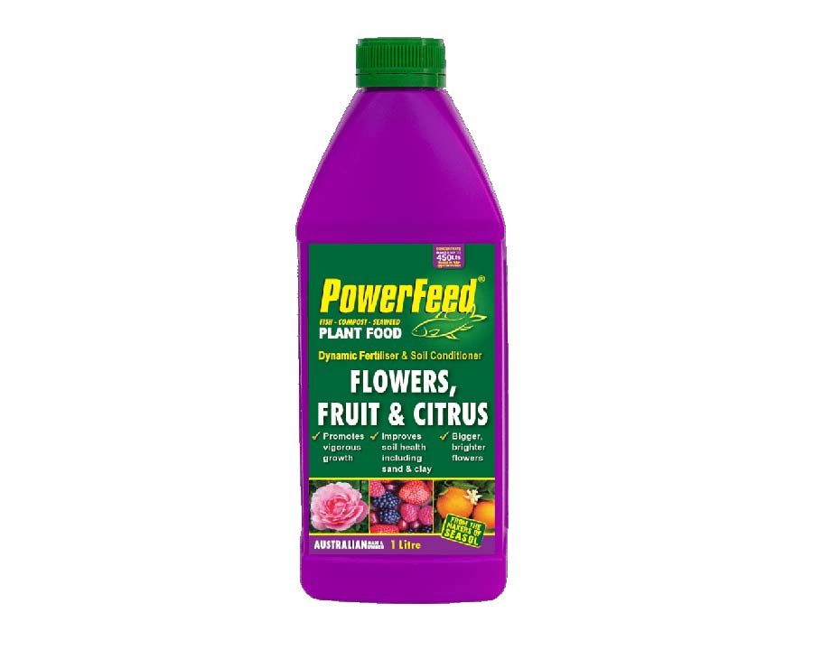 Powerfeed for flowers, Fruit and Citrus, 1 litre, Seasol