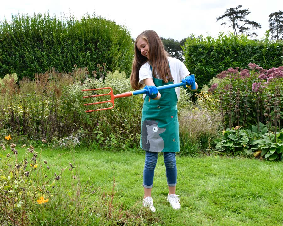 Children's Digging Fork part of the 'Get me Gardening' range by the National Trust