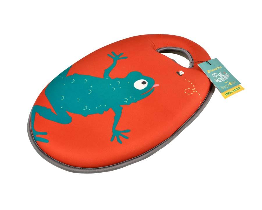 Children's Kneeler Frog design - part of the 'Get me Gardening' range by the National Trust