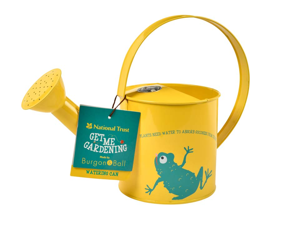 Children's Watering Can other side - part of the 'Get me Gardening' range by the National Trust