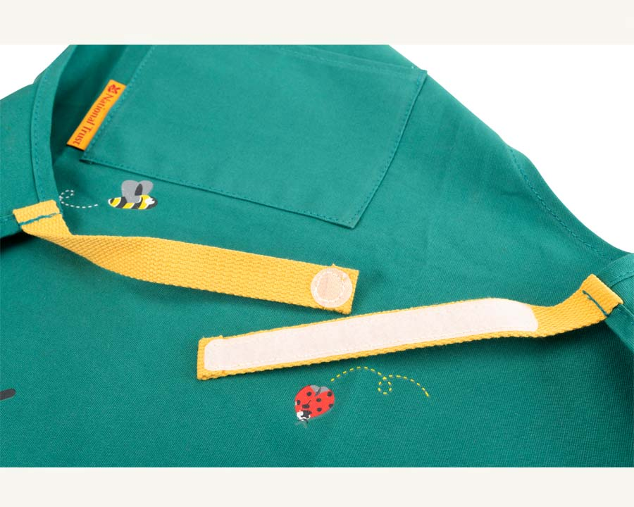 Children's Apron by National Trust - velcro fastening for waist